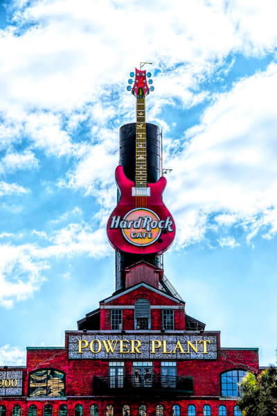Hard Rock Cafe At The Power Plant Photography Art | Pam Phillips Photography