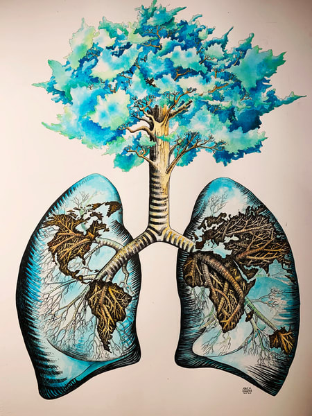 World Lungs Atlas Art | artemart