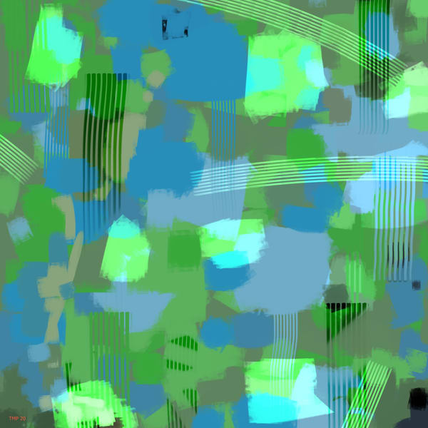 High Chroma Abstract 3 Art | Matt Pierson Artworks