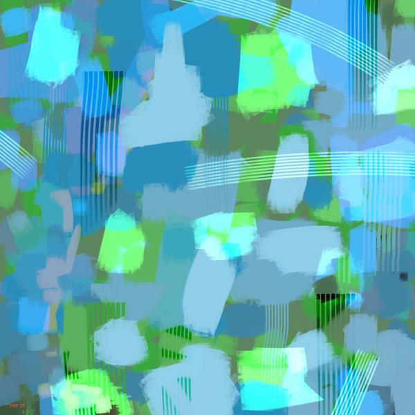 High Chroma Abstract 4 Art | Matt Pierson Artworks