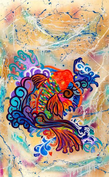"""Koi Dance"" Art | JD Shultz Art"