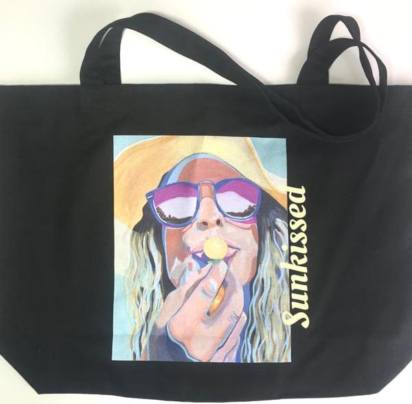 Sunkissed   Large Eco Bag Art | Kristin Webster Art Studio