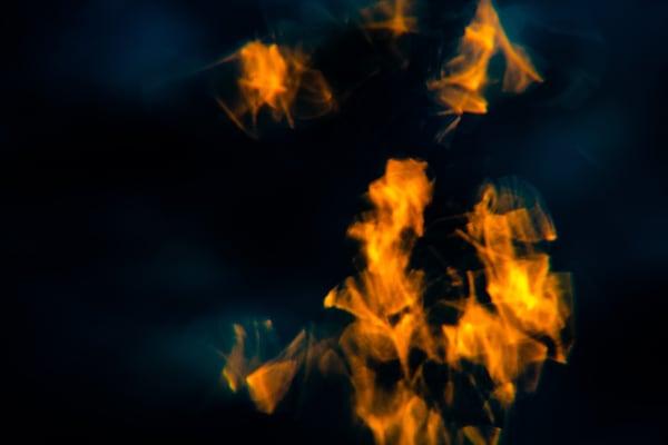 Burning Water Spots Art   Vitamin Sea Photography