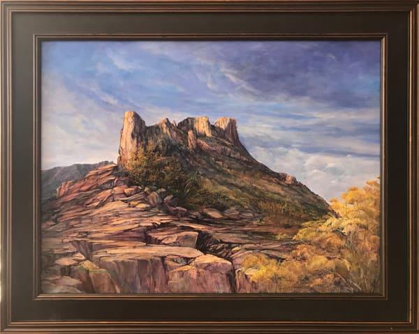 Lindy Cook Severns Art | Sky Island, original oil