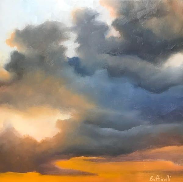 Colored Skies V   Original Art | Bottinelli Fine Art