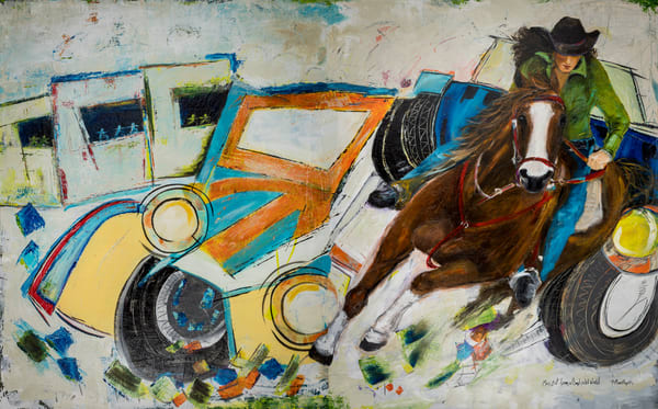 Mass Exit  Art | B Mann Myers Art