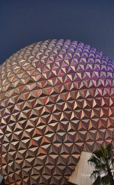Epcot Images of The Dome!