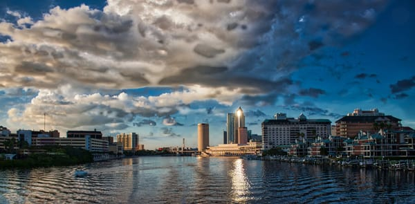Tampa Panoramic Photography Art | It's Your World - Enjoy!