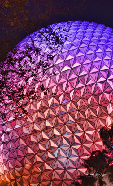 Geodesic Dome - Epcot - Orlando, Florida