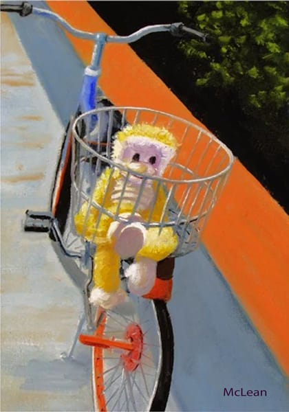 Out for a Ride , From an Original Oil Painting