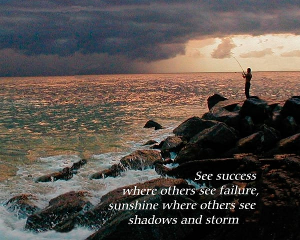Insp Fishing In Storm Photography Art | It's Your World - Enjoy!