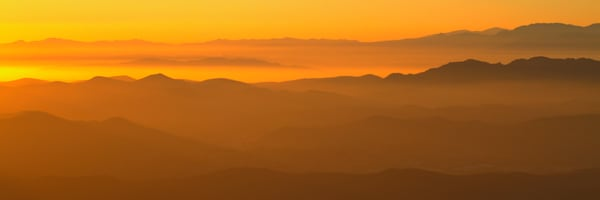 Canyon Sunset Photography Art | Michael Scott Adams Photography