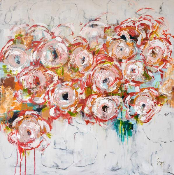 Camellia Craze Art | Claire Gowdy Art