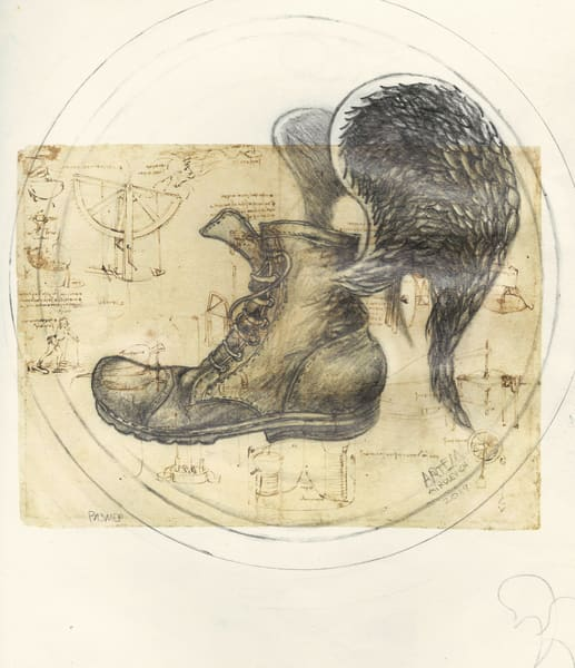 In Leonardo's Shoes  Art by artemart