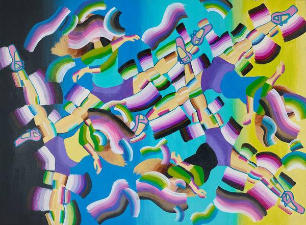 Movement Gratitude Art Print