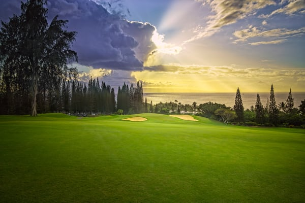 Bay Course, Kapalua, 3rd Hole