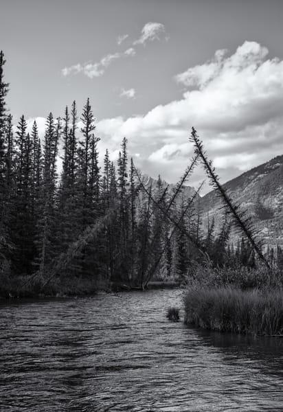 Bow River British Columbia Photography Art | Namaste Photography