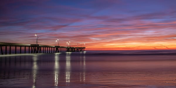 Sunset W/Light Reflections 2x1 Photography Art | Michael Scott Adams Photography