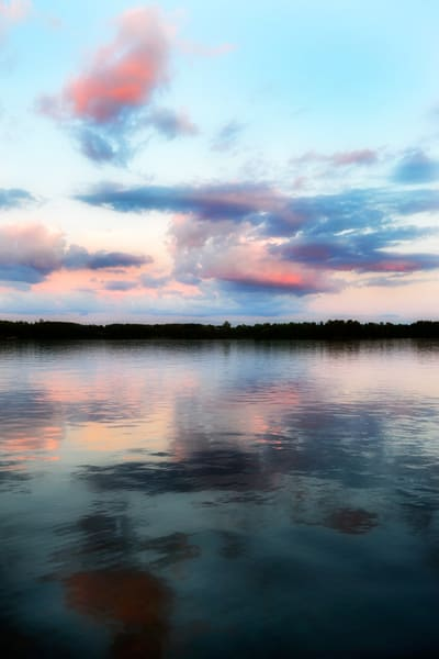 Lake Sunset, by Laura Grisamore