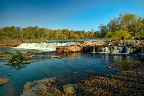 Grand Falls Photograph 9541 | Waterfall Photography | Missouri Photography | Koral Martin Healing Nature of Art | Healthcare Art