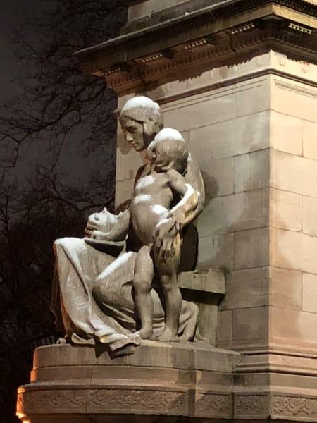 'fireman's Monument Nyc' Art | Cera Arts