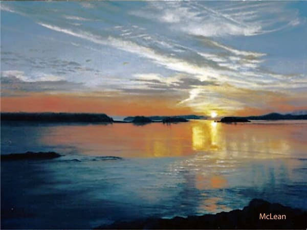 Sunrise at 5AM, Oil Painting
