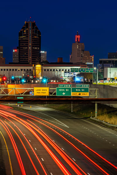 I-94 Traffic in Saint Paul - Minnesota Photographs