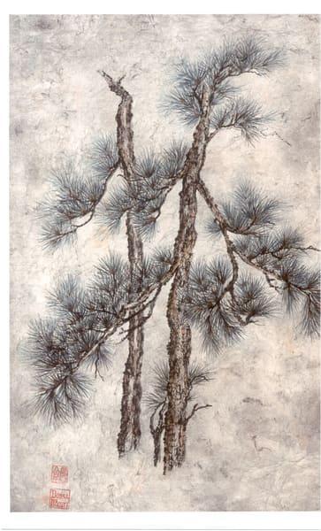 Three Friends On Grey  Art | donnadacuti
