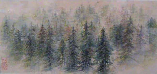 Morning Mountain 2 Art | donnadacuti
