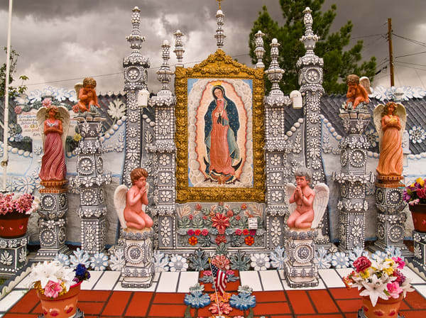 Our Lady's Altar | El Paso Art Photography