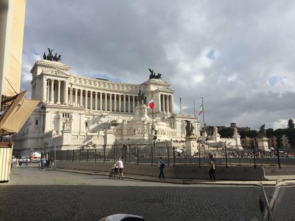 Plaza Vittorio Emanuele...Rome' Art | Cera Arts