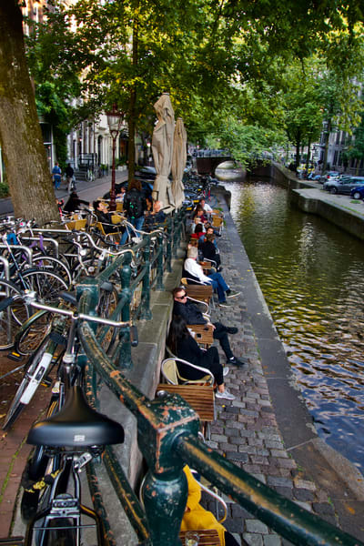 'canal Respite...Amsterdam' Art | Cera Arts
