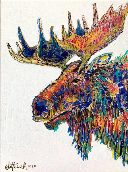 Morgan The Moose Art | Kristyn Watterworth