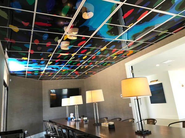 Kobe bryant board room ceiling qbm2x5