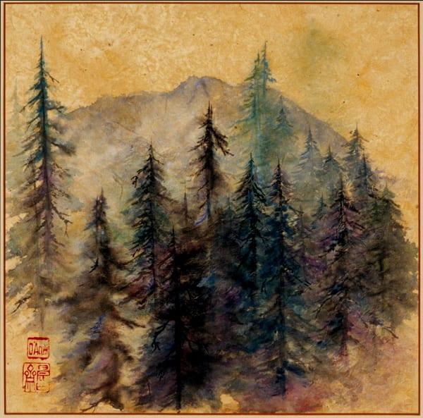 Mt.Tam On Gold Art | donnadacuti
