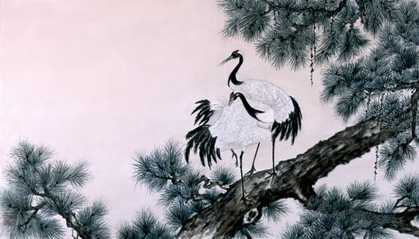 Two Cranes Art | donnadacuti