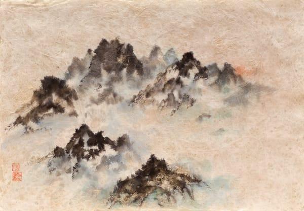 Sunrise Over Mountain Art | donnadacuti