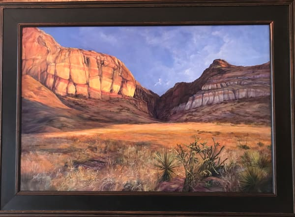 Lindy C Severns Art | Drenched in Dawn original oil painting