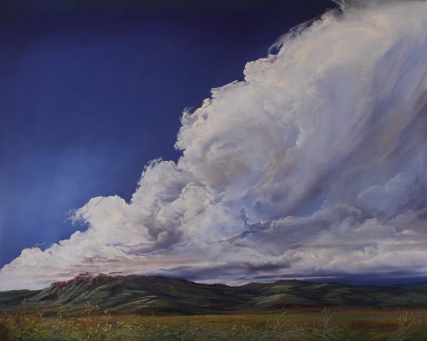 Lindy Cook Severns Art | Untamed Texas Sky, print