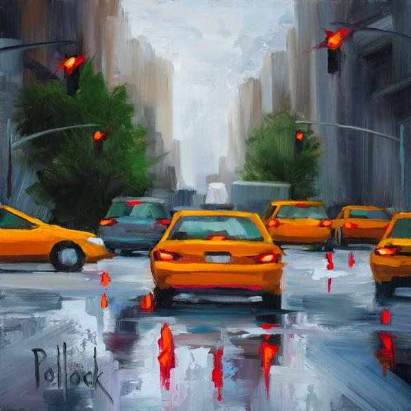 Let's Go, original oil painting | Sarah Pollock Studio