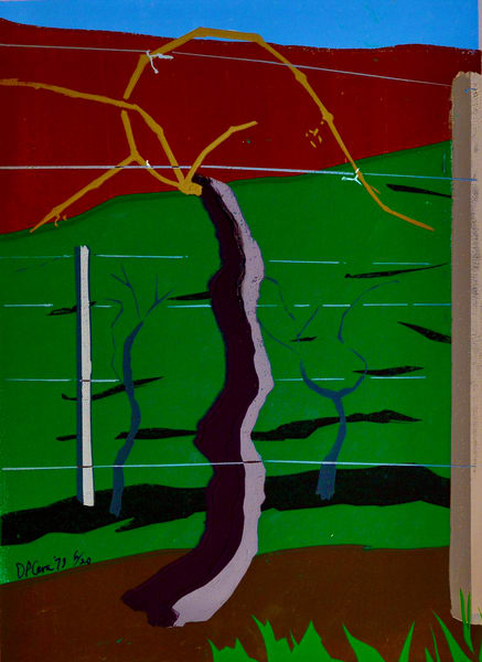 'vineyard' I Art | Cera Arts