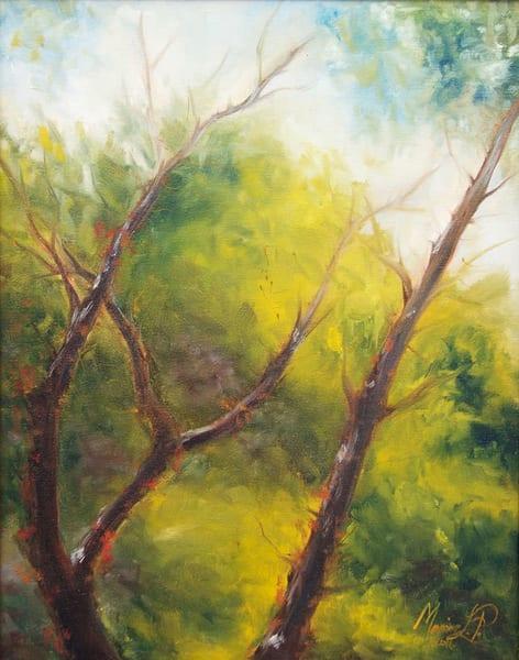 Three At Bukhansan Art | Marian Pham Art LLC