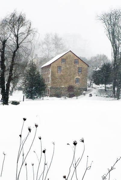Winter Mill - Michael Sandy Photography