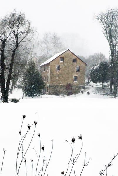 Winter Mill - Michael Sandy Photography