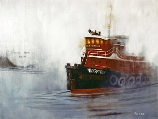 Tug, Nickpatrick, Oil Painting