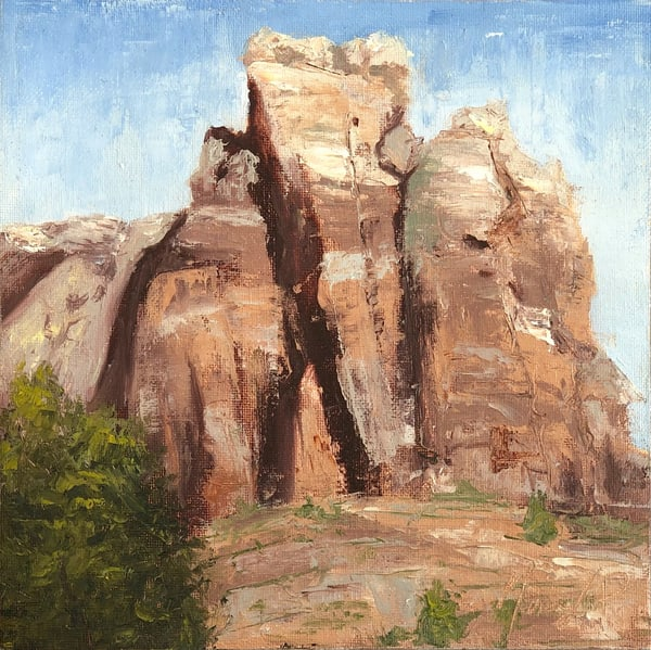 Lower Calf Creek Trail Art | Marian Pham Art LLC