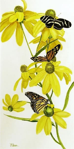 Sweet Nectar, From an Original Oil Painting