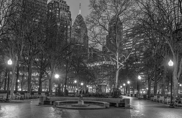 Rittenhouse Square Photography Art | Michael Sandy Photography
