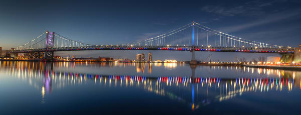 Ben Franklin Bridge - Michael Sandy Photography