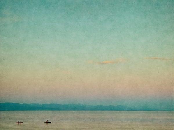 Kayaks On Campbell River   Limited Edition Print Photography Art | Doug Landreth Photography